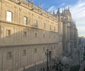 View from balcony, Seville's Cathedral